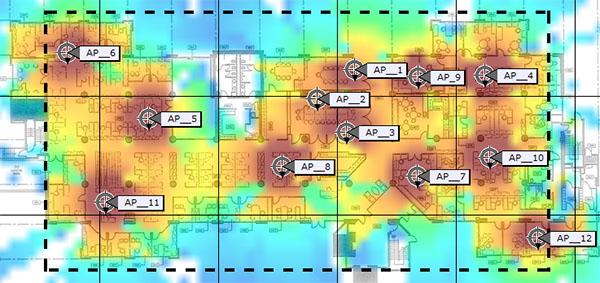 WiFi RF Map