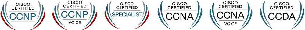 Cisco Certification Logos
